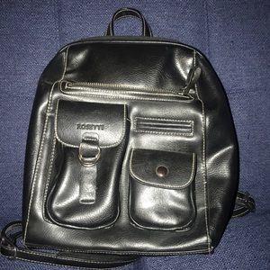 Black Rosetta purse